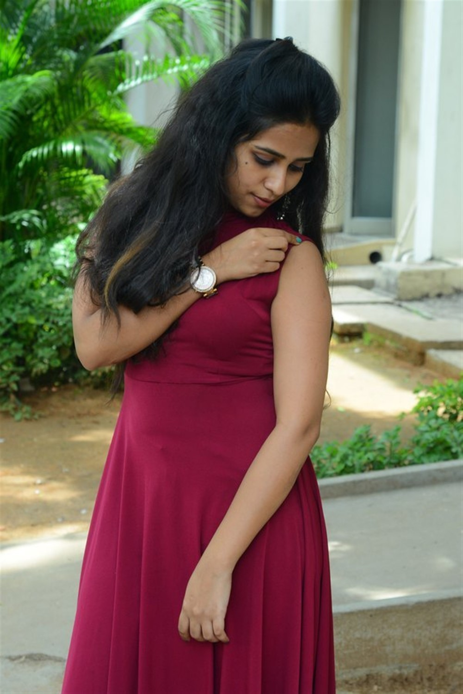 Actress Deekshitha Parvathi Photos @ Nee Kosam Trailer Launch