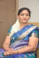 Deepa in Blue Silk Saree Pics