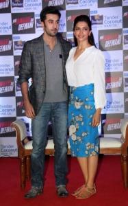 Ranbir Kapoor & Deepika Padukone @ Parachute Press Conference