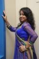 Actress Deepu in Blue Dress Photos @ Writer Audio Release