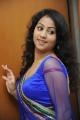 Telugu Actress Deepu Photos in Blue Dress