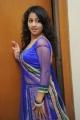 Actress Deepu in Blue Dress Photos @ Writer Audio Launch