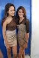 Actress Pragya & Erika Fernandez at Dega Movie Press Meet Stills