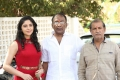 Zahida Sam, Sagar, V Samudra @ Degala Srinu Movie Opening Stills