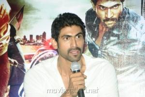 Rana at Department Movie Press Meet Stills