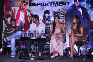 Department Movie Press Meet in Hyderabad Stills