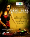 Pop Singer Madhoo Desi Girl Album Launch Invitation Posters