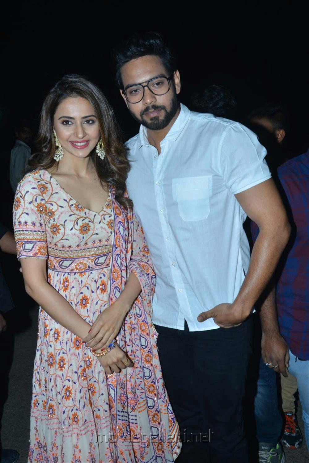 Rakul Preet, Aman Preet @ Dev Movie Pre Release Event Stills