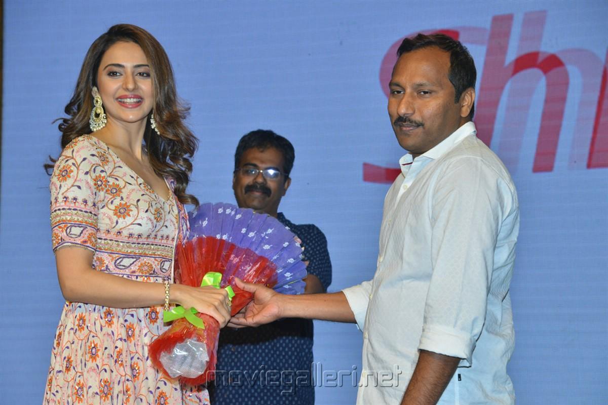 Rakul Preet Singh @ Dev Movie Pre Release Event Stills