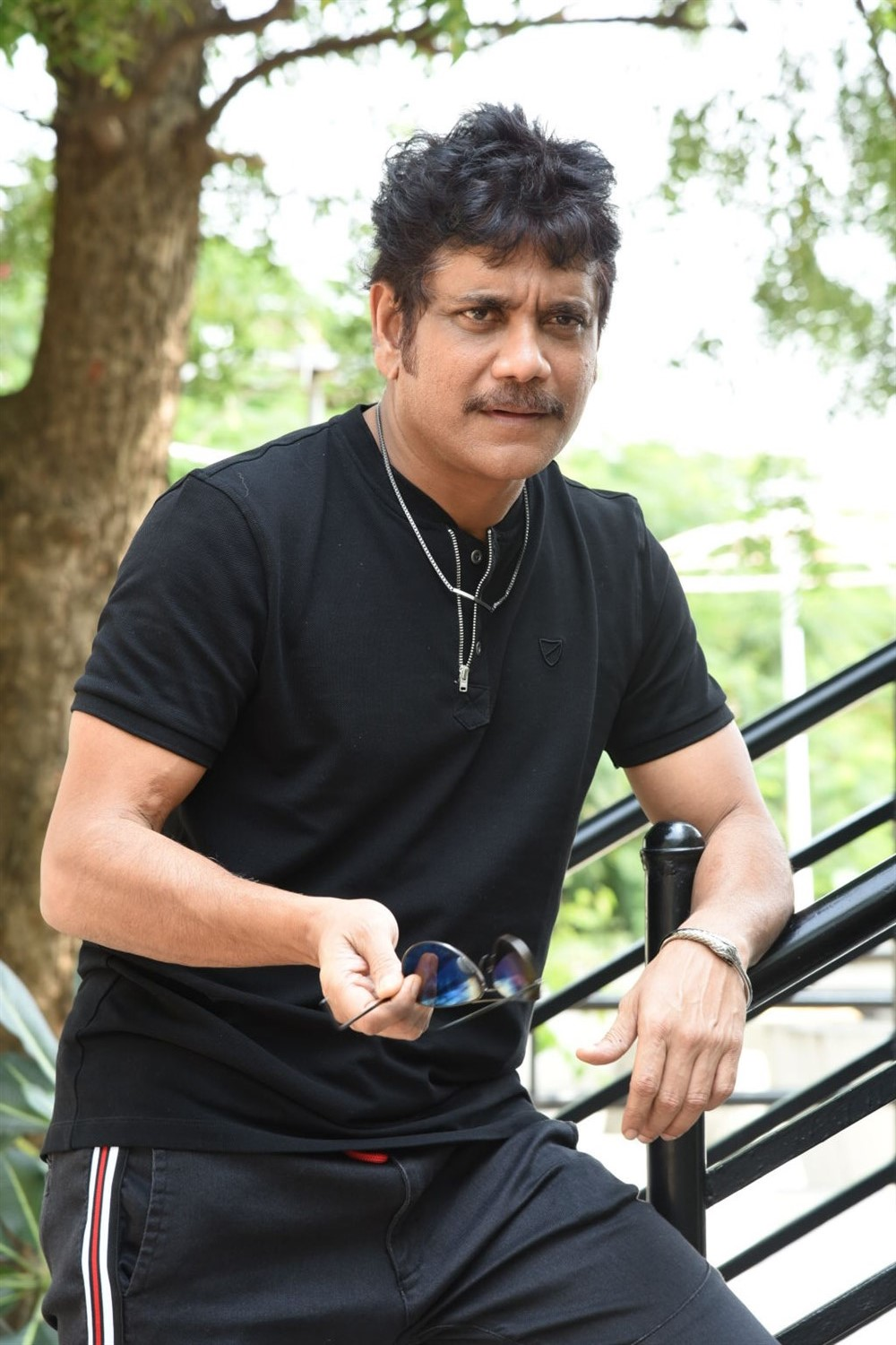 Devadas Hero Nagarjuna Interview Stills