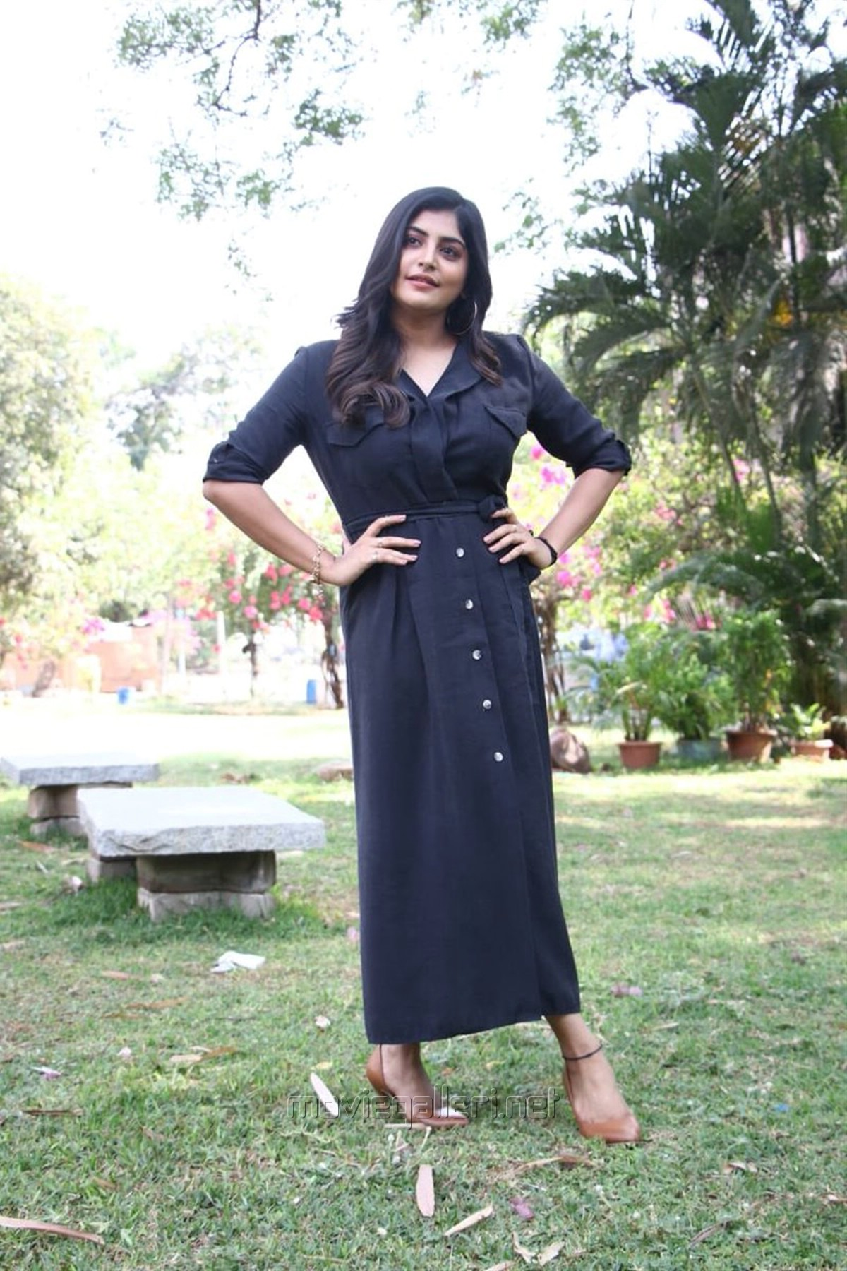 Actress Manjima Mohan @ Devarattam Movie Press Meet Photos
