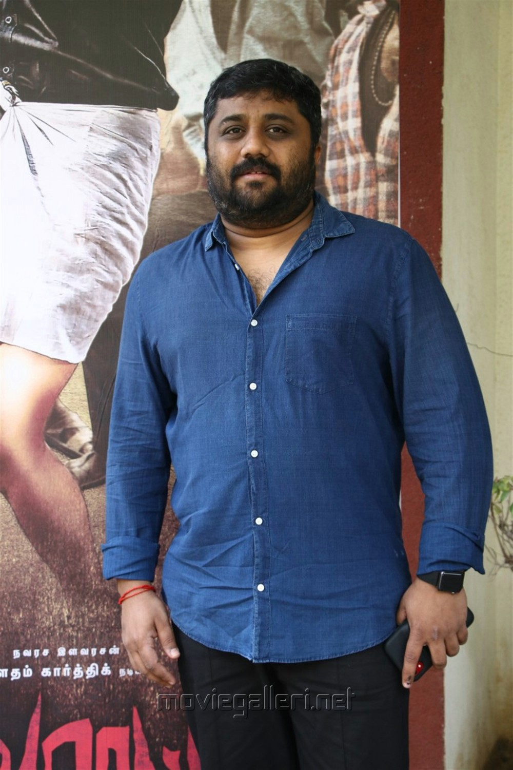 Producer KE Gnanavel Raja @ Devarattam Movie Press Meet Photos