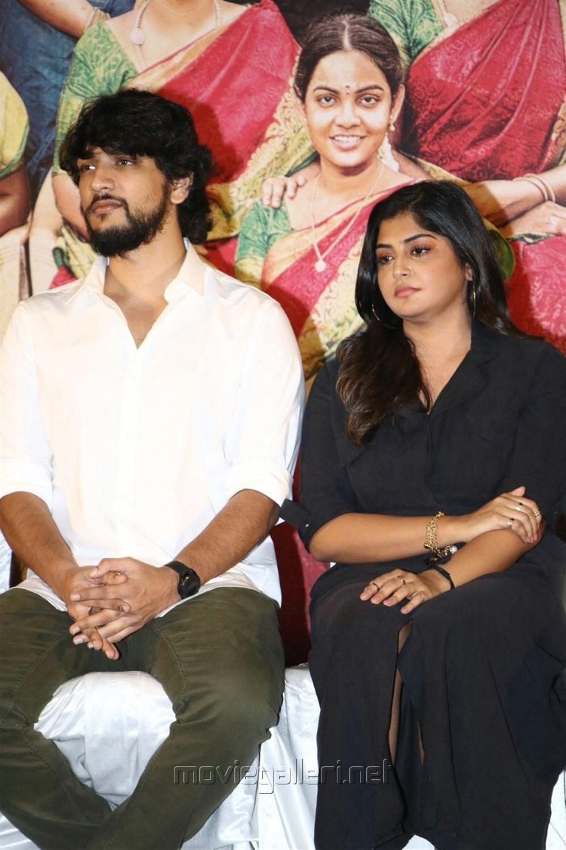 Gautham Karthik, Manjima Mohan @ Devarattam Movie Press Meet Photos