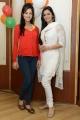 Vidisha, Meenakshi Dixit at Devaraya Movie Success Meet Stills