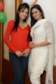Vidisha, Meenakshi Dixit at Devaraya Movie Success Meet Photos