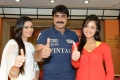 Meenakshi Dixit, Srikanth, Vidisha at Devaraya Movie Success Meet Photos