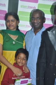 Raja Rajeswari, Karthik Raja launches Green Trends 124th Salon Stills