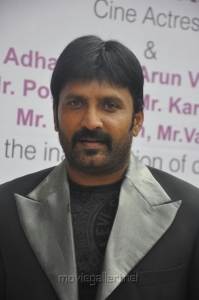 Actor Vignesh launches Green Trends 124th Salon Stills