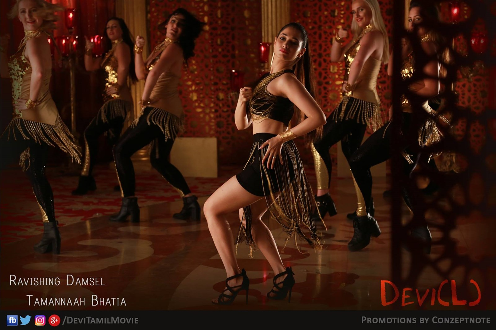 Tamanna in Devi(L) Movie Stills