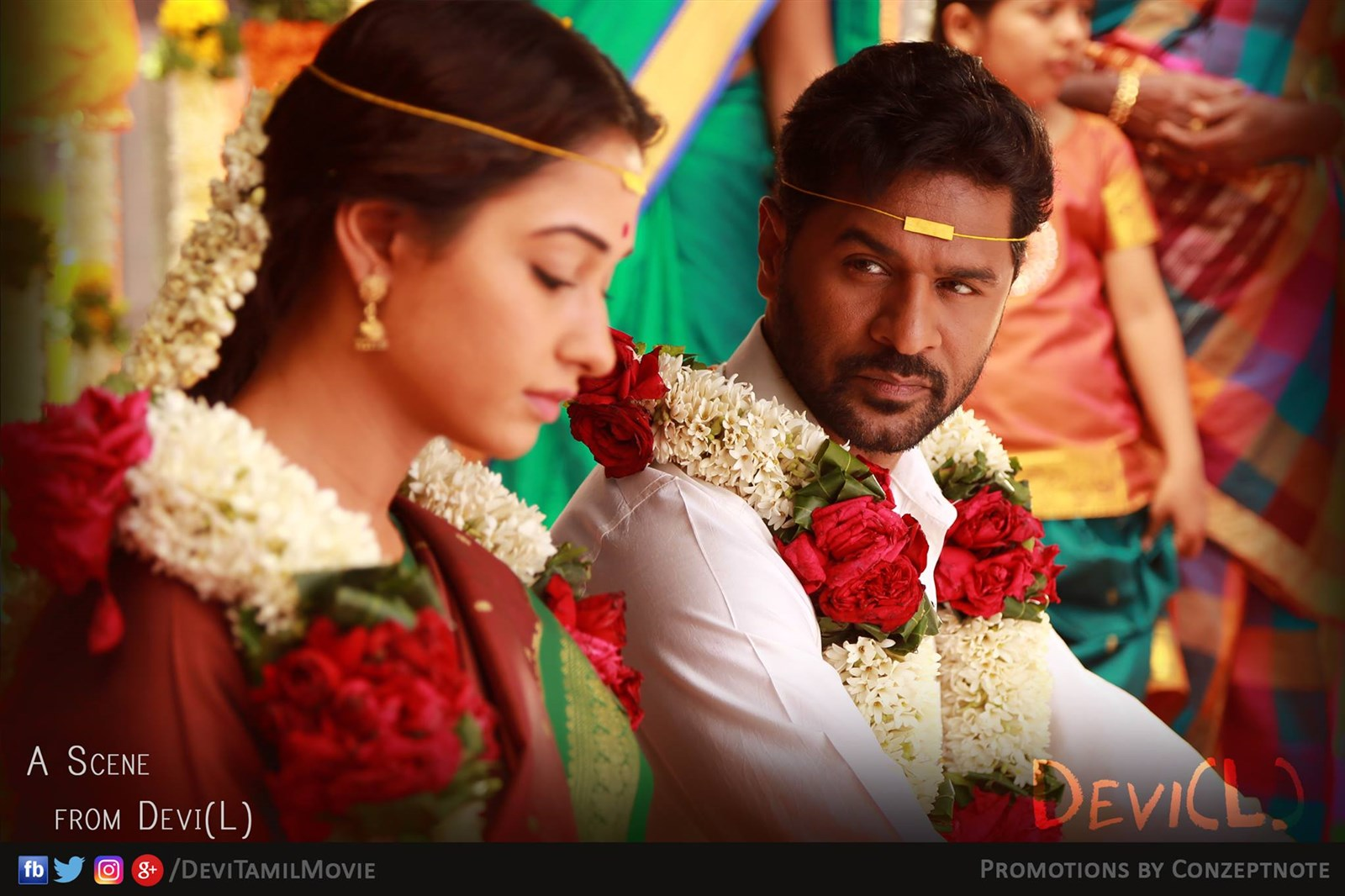 Tamanna, Prabhu Deva in Devi(L) Movie Stills