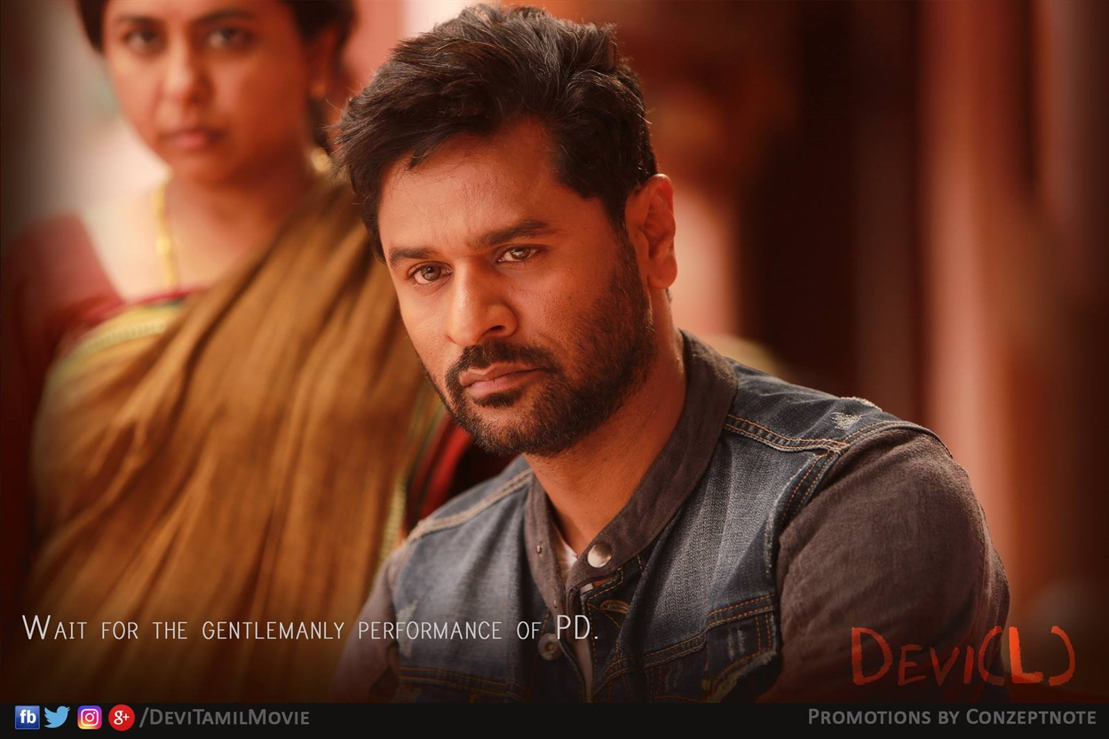 Actor Prabhu Deva in Devi(L) Movie Stills