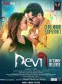 Amy Jackson, Prabhu Deva in Devi Movie Release Posters