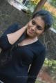 Actress Devika Choudhary Hot Stills in Black Dress