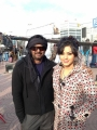 Puri Jagannath, Devshi khanduri Stills at Iddarammayilatho On Location