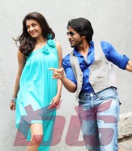 Naga Chaitanya Kajal Dhada Movie Stills