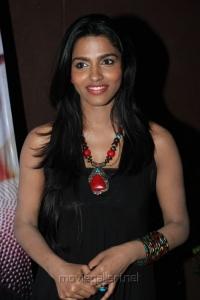 Tamil Actress Dhanshika Photos at Vallinam Press Meet