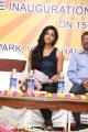 Dhanshika Hot Pics in Blue Dress