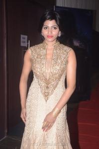 Actress Dhansika Photos @ Kabali Audio Function