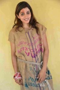 Actress Sai Dhansika Photos @ Udgarsha Movie Shooting Spot