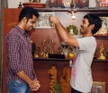 Dhanush Gifted Gold Chain to Balaji Mohan for Maari Team Stills
