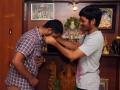 Dhanush Gifted Gold Chain For Maari Movie Team Stills