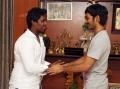 Dhanush Gifted Gold Chain to Kalloori Vinoth for Maari Team Stills