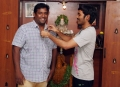 Dhanush Gifted Gold Chain to Robo Shankar for Maari Team Stills