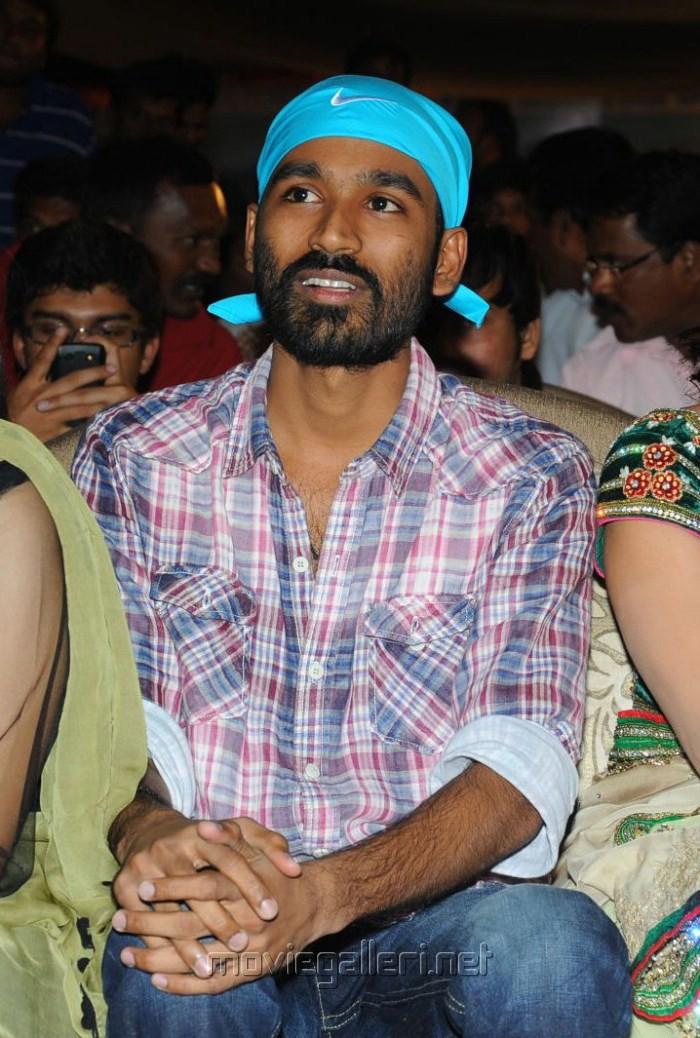 Actor Dhanush Pics at 3 Audio Release