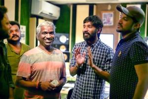 Karthik Raja, Dhanush, Vijay Yesudas @ Padai Veeran Movie Photos