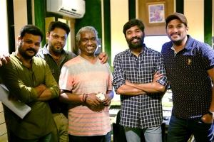 Dhana, Karthik Raja, Dhanush, Vijay Yesudas @ Padai Veeran Movie Photos