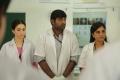 Tamanna, Vijay Sethupathi, Srushti Dange in Dharma Durai Movie Stills