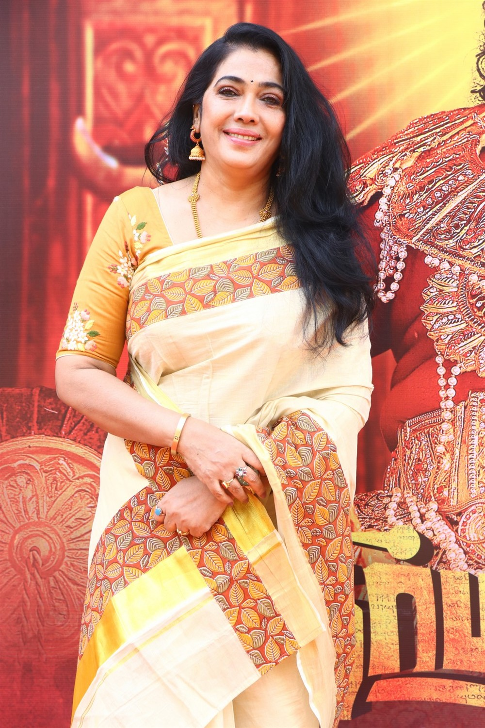 Actress Rekha @ Dharma Prabhu Audio Launch Stills