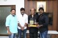 Seenu Ramasamy, Vijay Sethupathi, RK Suresh @ Dharmadurai Team Meets Rajinikanth Photos