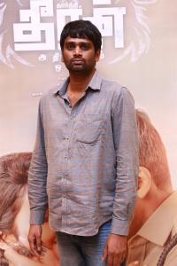 Director H Vinoth @ Dheeran Adhigaram Ondru Success Meet Stills