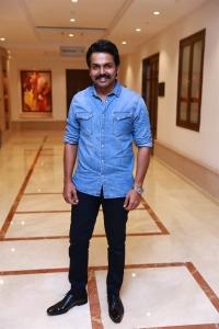 Hero Karthi @ Dheeran Adhigaram Ondru Success Meet Stills