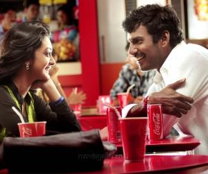 Aishwarya Arjun, Vishal Krishna in Dheerudu Telugu Movie Stills