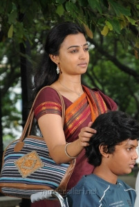 Actress Radhika Apte Stills in Dhoni Movie