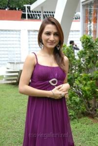 Actress Dhriti Stills at NSR Films Production No. 1 Movie Opening
