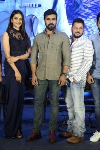 Rakul Preet Singh, Ram Charan, Surender Reddy @ Dhruva Movie Team Salutes Audience Meet Stills