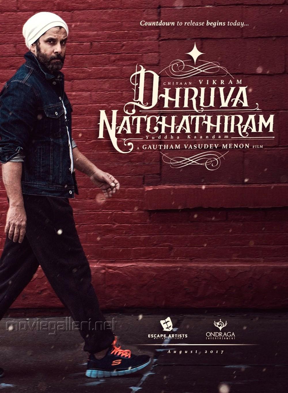 Vikram's Dhruva Natchathiram First Look Posters